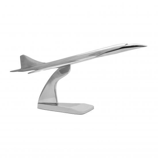 Модель самолета Aluminum Concorde Model