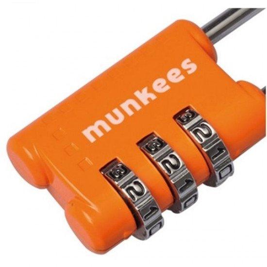 Брелок-замок авиационный Munkees Combi Lock 3608