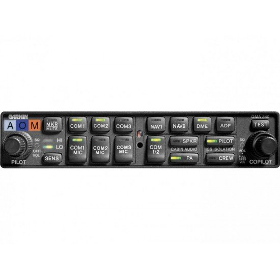 Аудиопанель авиационная Garmin GMA 340