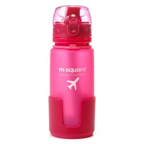 Бутылка авиационная mSquare силиконовая складная