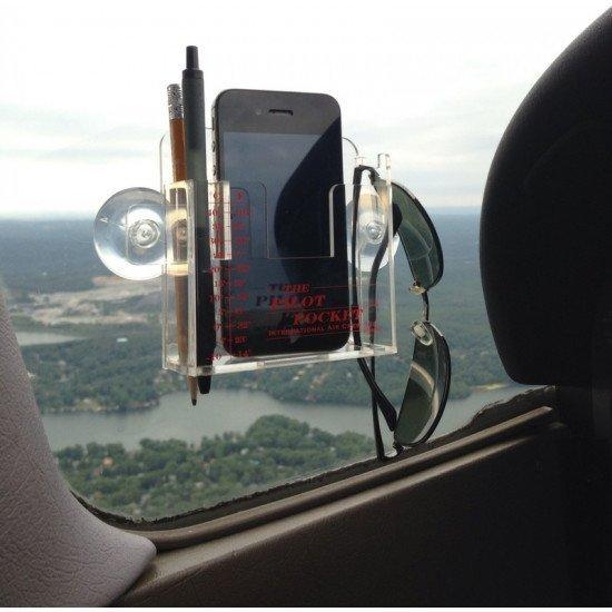 Держатель-органайзер авиационный Pilot Pocket PLUS для телефона