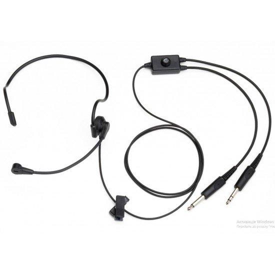 Авиационная гарнитура PA-2011A Lightweight Pro Headset