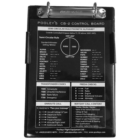 Наколенный планшет летчика Pooleys CB-2