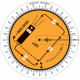 Плоттер авиационный Pooleys LPC-1 Landing Pattern Computer