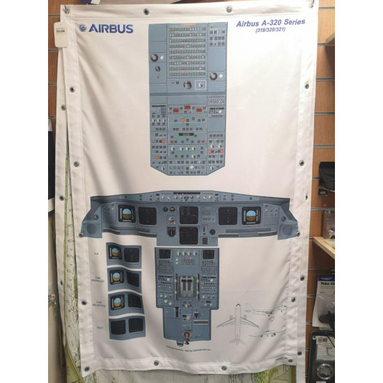 Баннер Кабина пилота Airbus A320