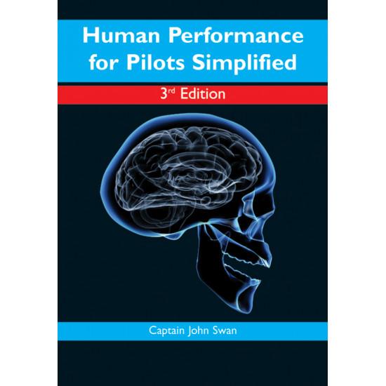 Книга авиационная Pooleys Human Performance for Pilots Simplified, 4th Edition - John Swan