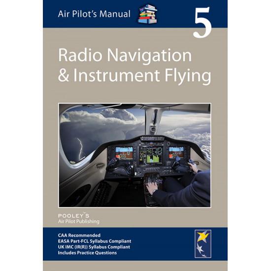 Книга авиационная Pooleys Air Pilot's Manual Volume 5 Radio Navigation & Instrument Flying