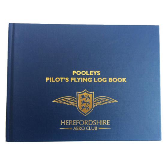Книжка лётная Pooleys Pilot Flying Log Book