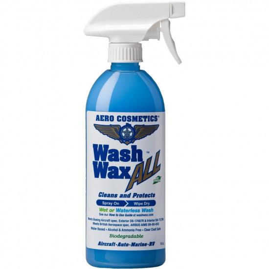 Очиститель внешний WASH WAX ALL с защитным эффектом 473 ml