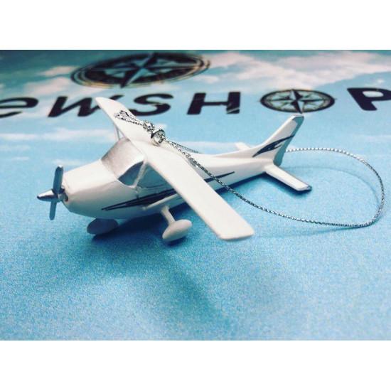 Елочная игрушка Cessna 172