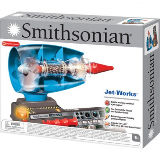 Игрушка ТРДД Smithsonian Test Jet Engine Model Kit