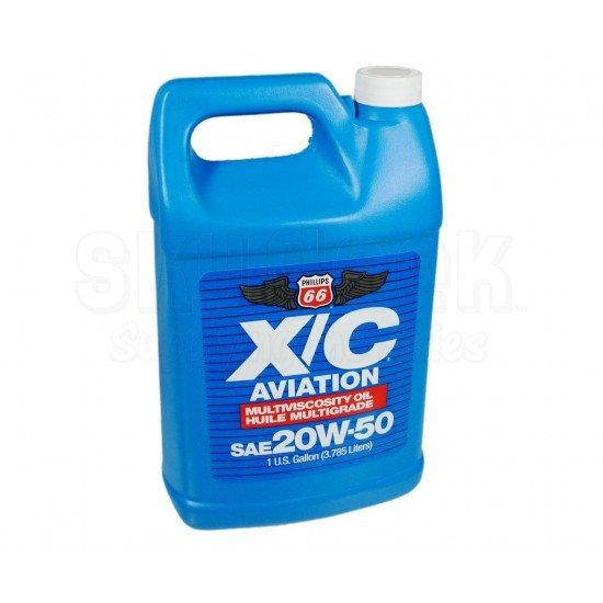 Авиационное масло  Phillips 66 X/C 20W-50 Aviation Oil - Gallon Jug