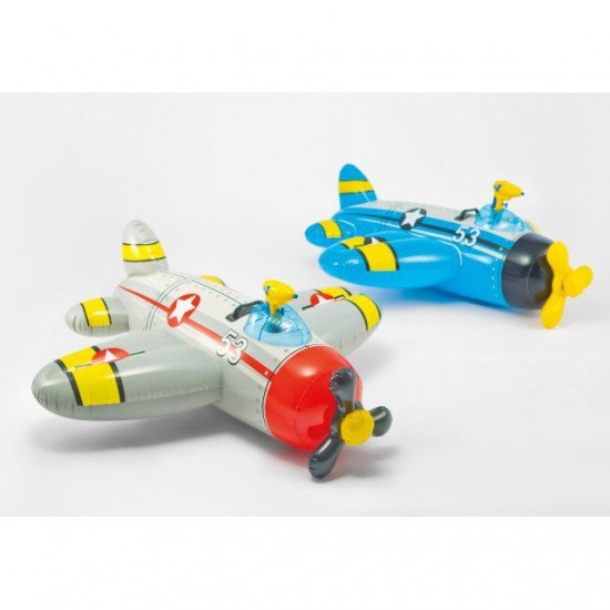 Іграшка, гумовий літак для купання, Warbird Pool Float with Water Gun