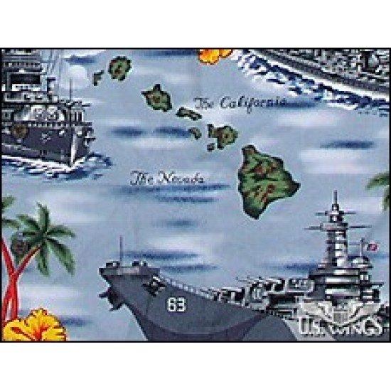 Naval Battleships Aloha Shirt
