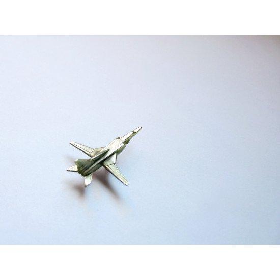 Значок авиационный Ту-22 металлик
